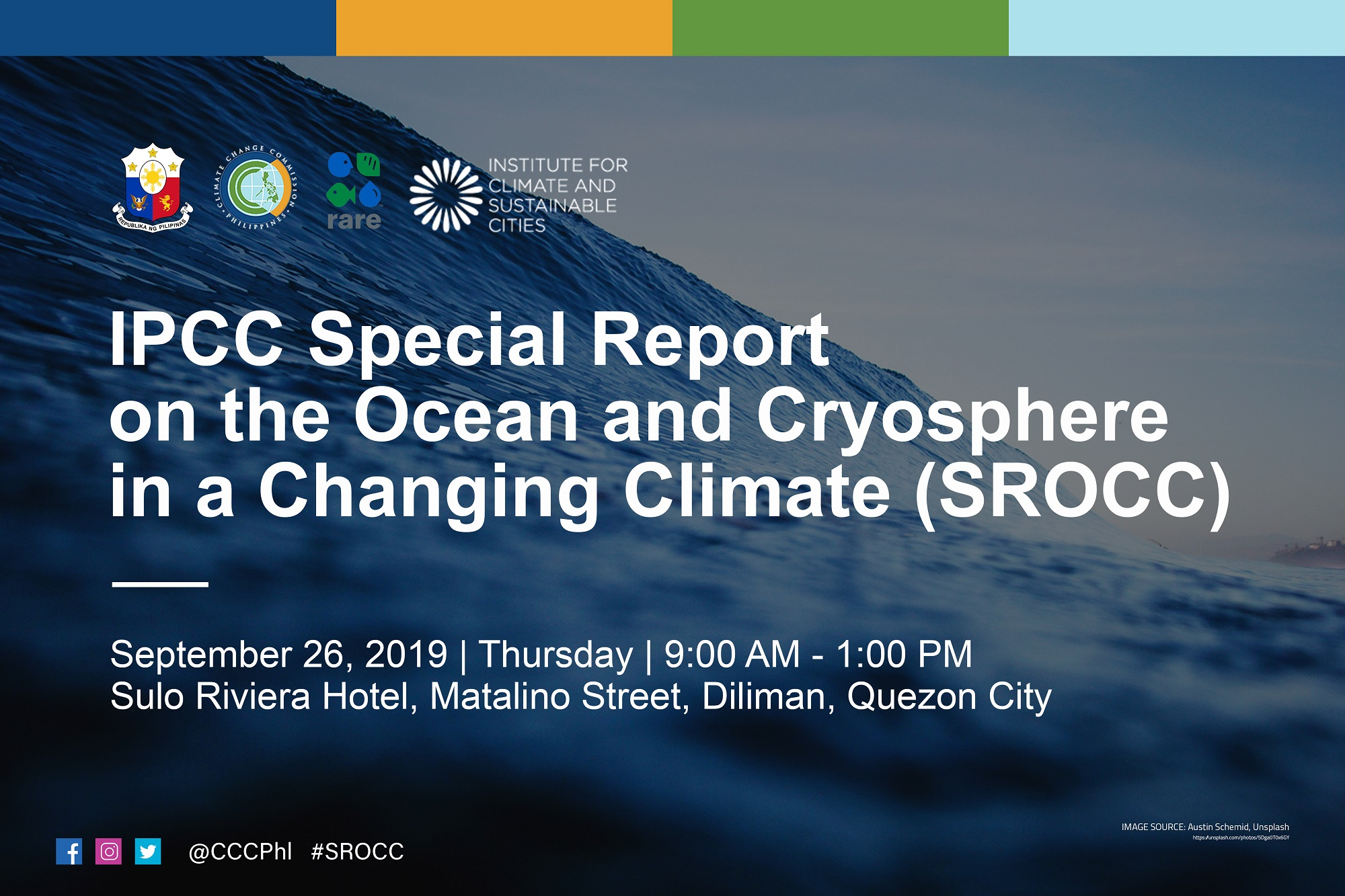 Press Briefing on IPCC Special Report on Ocean and Cryosphere in a Changing Climate