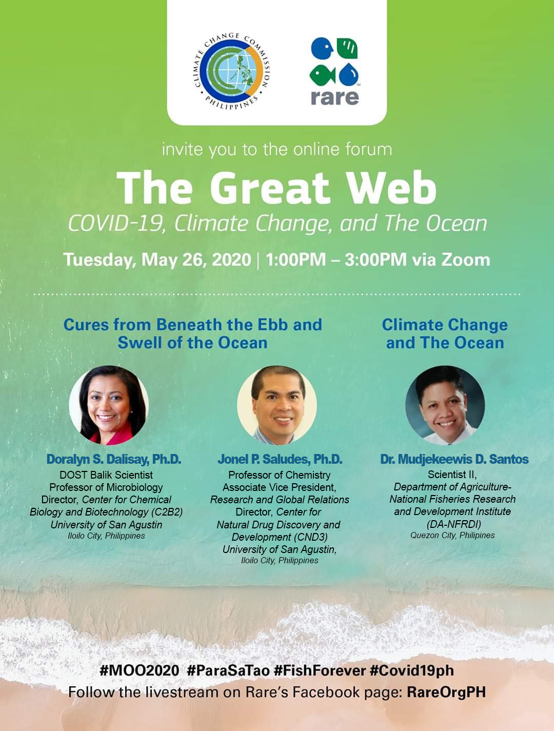 The Great Web: COVID-19, Climate Change, and The Ocean