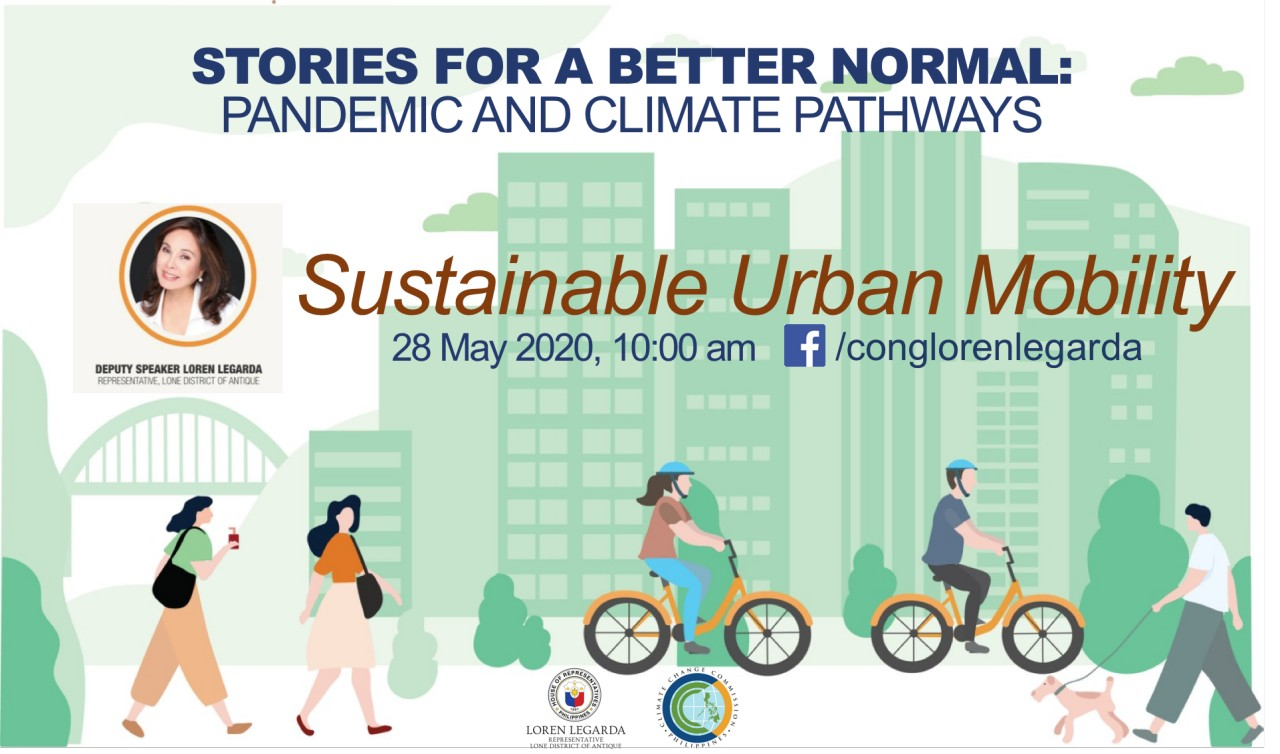 Stories for a Better Normal: Pandemic and Climate Pathways – Sustainable Urban Mobility