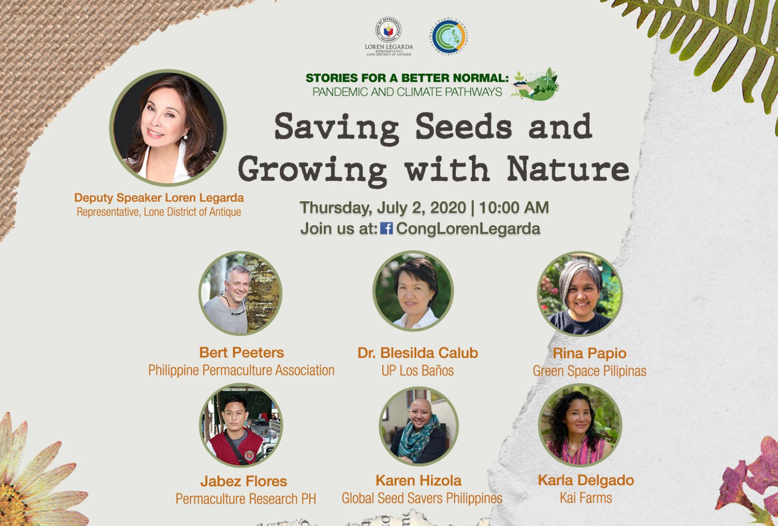 "Saving Seeds and Growing with Nature on 7th Episode of ""Stories for a Better Normal"" Series"