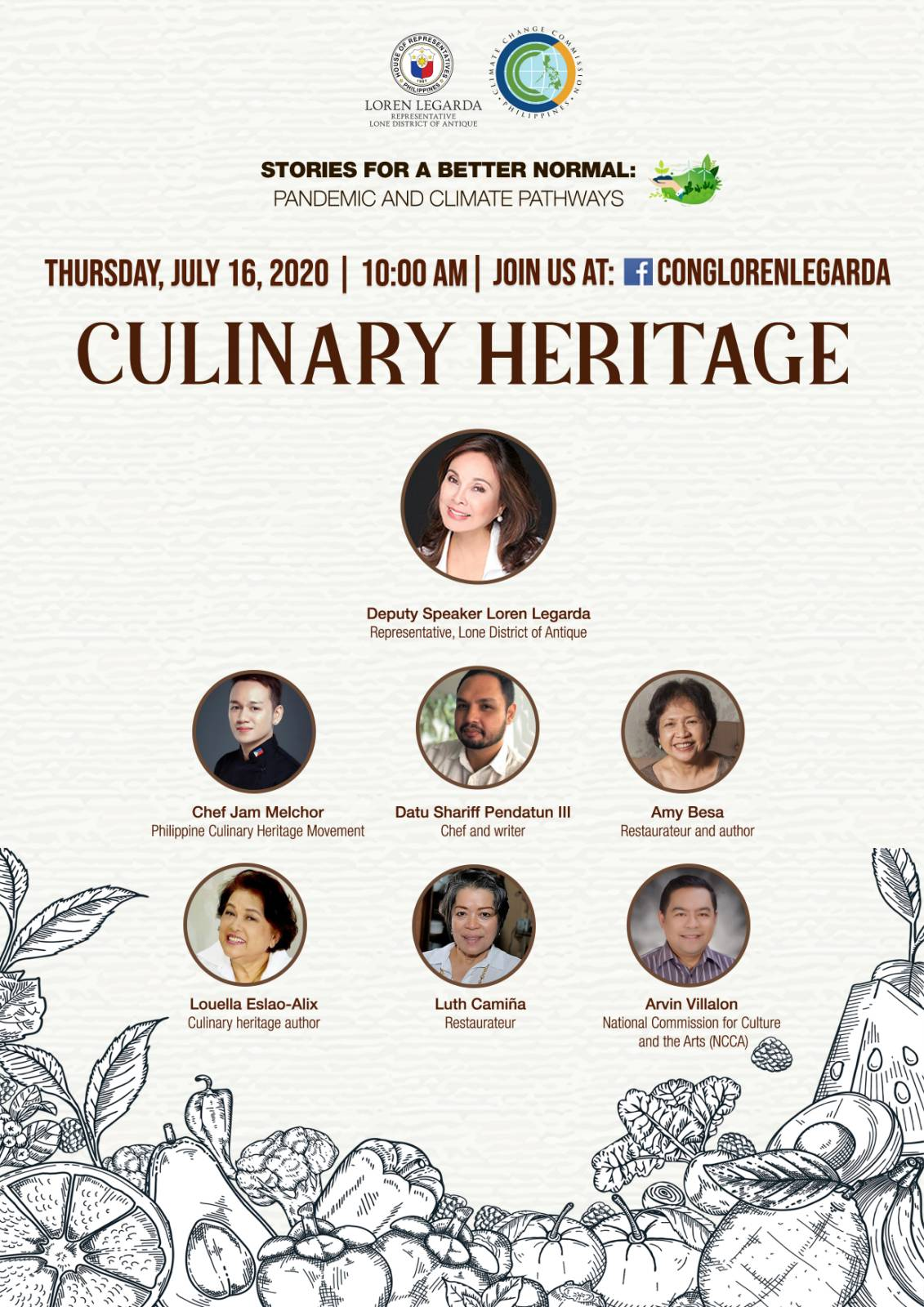 "Culinary Heritage in 9th Episode of ""Stories for a Better Normal"" Series"