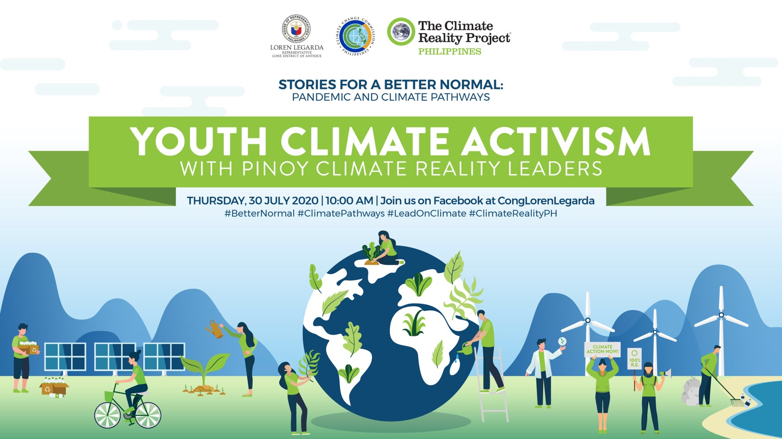 """Youth Climate Activism in 11th Episode of """"Stories for a Better Normal"""""""