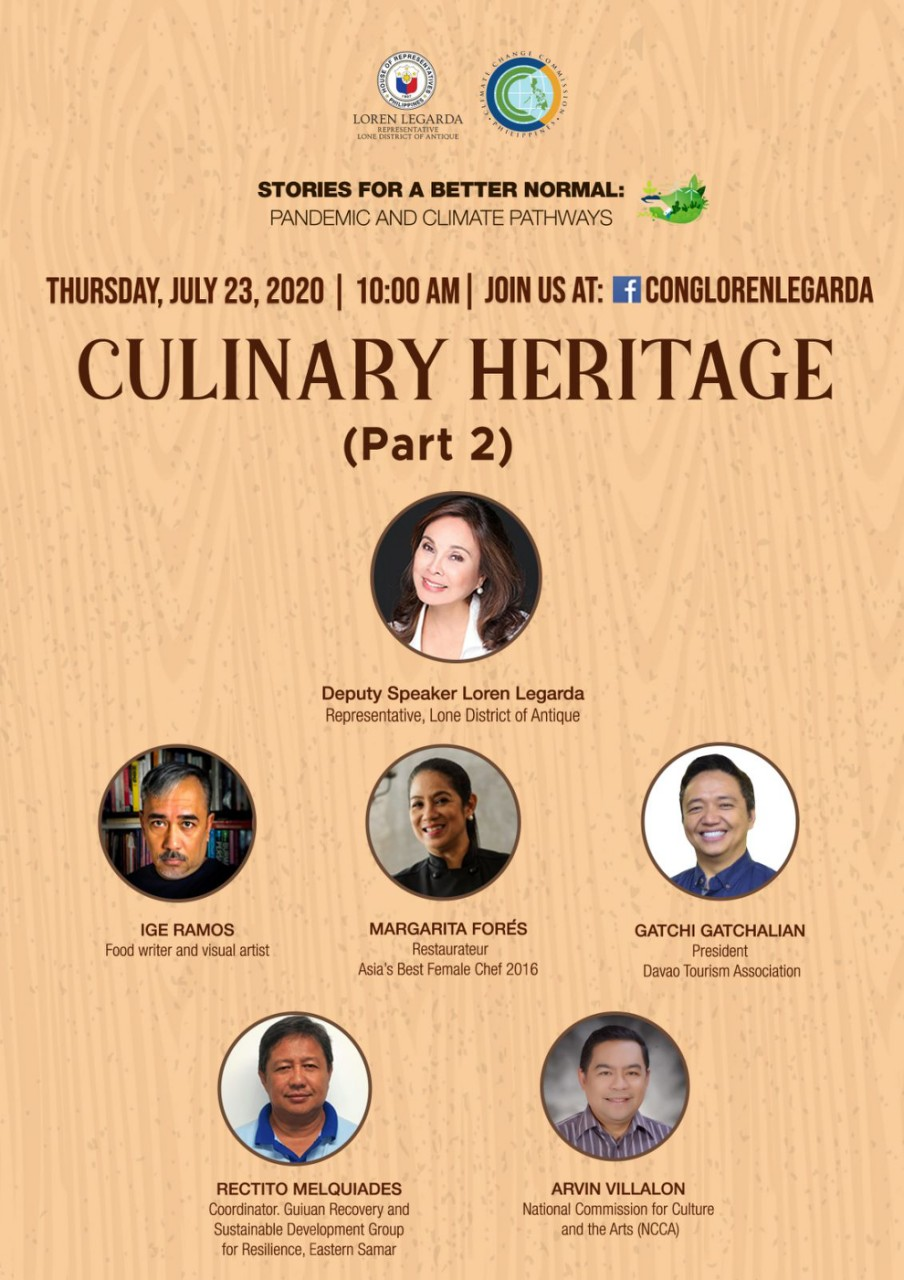 """Culinary Heritage Mapping in 10th Episode of """"Stories for a Better Normal"""" Series"""