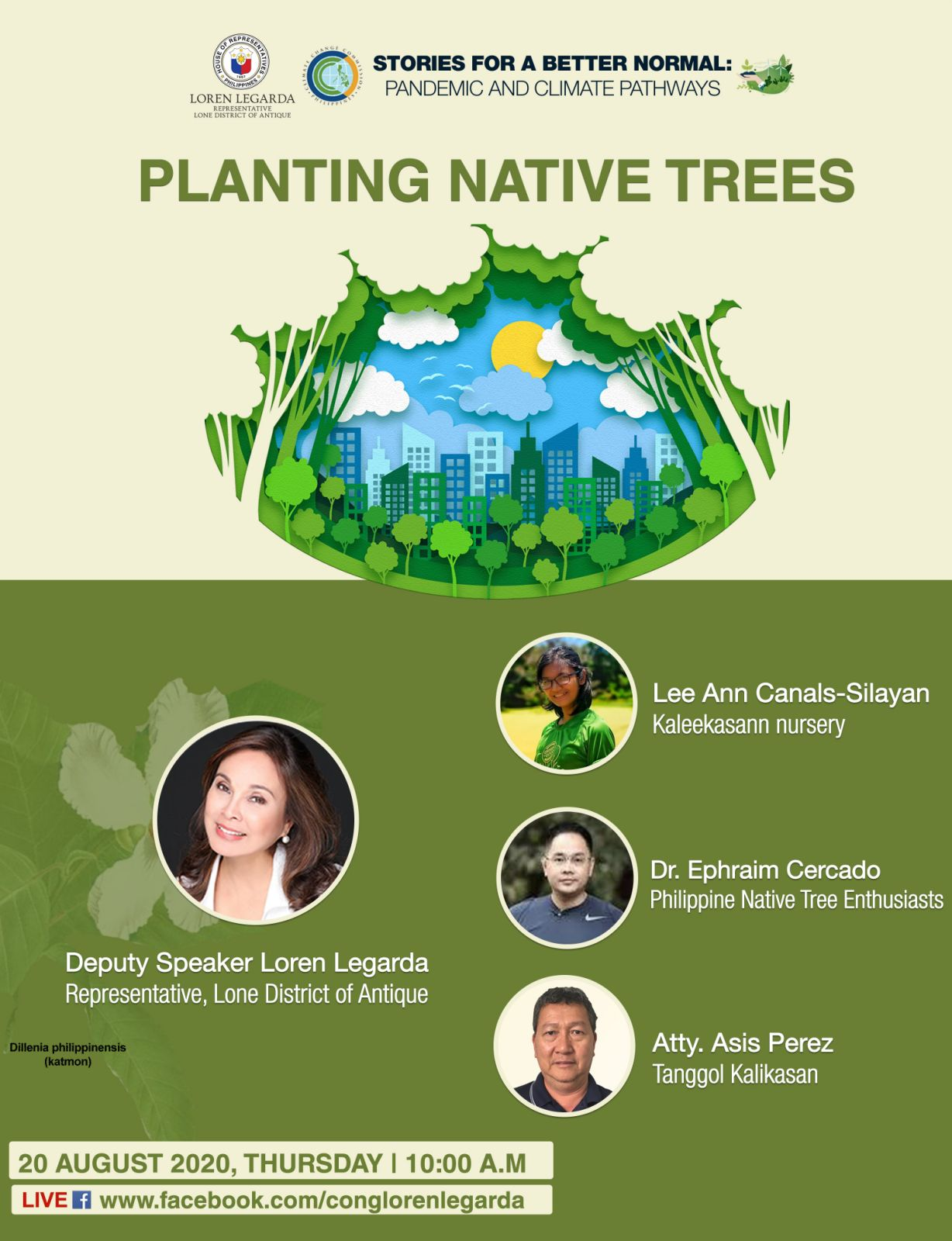 """Planting Native Trees in 14th Episode of """"Stories for a Better Normal"""" Series"""
