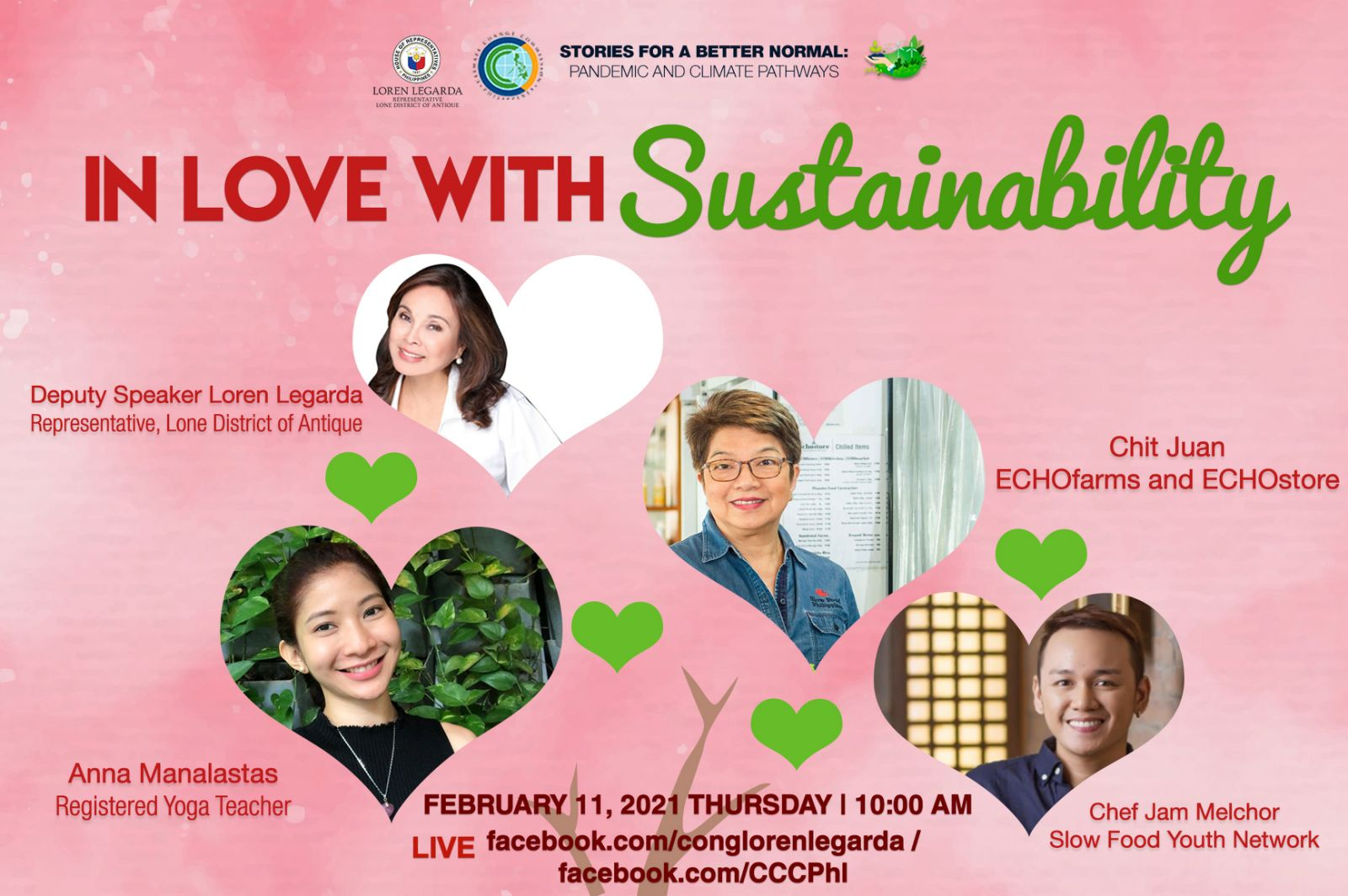 In Love with Sustainability.