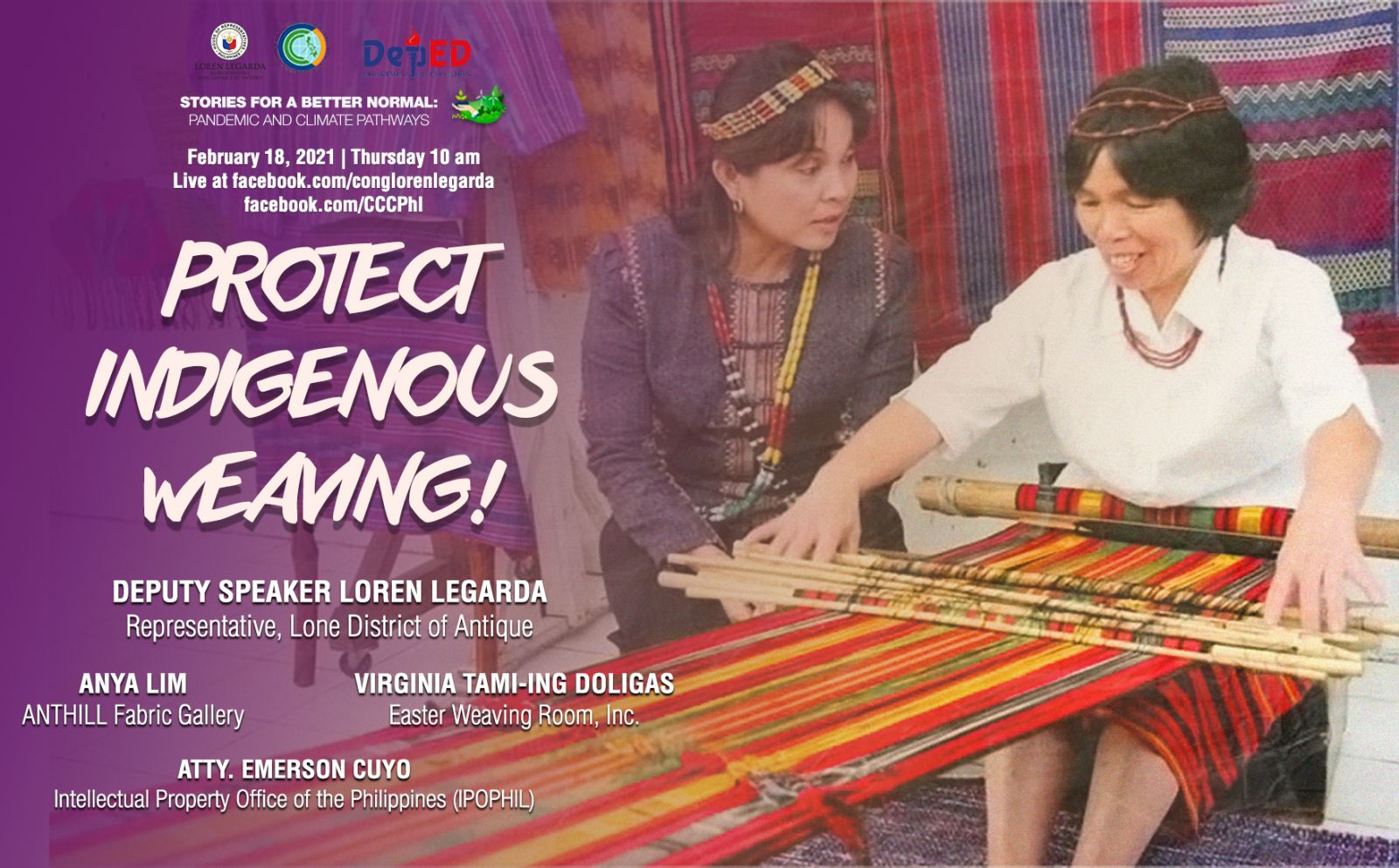 Protect Indigenous Weaving